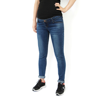 Maternity Clothing Maternity Jeans Insert Panel Maternity Skinny Jeans Cotton Denim Pants for Pregnant Women Pregnancy Clothes