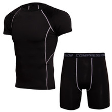 Fitness Long Johns Thermal Underwear Sets Men Brand Quick Dr