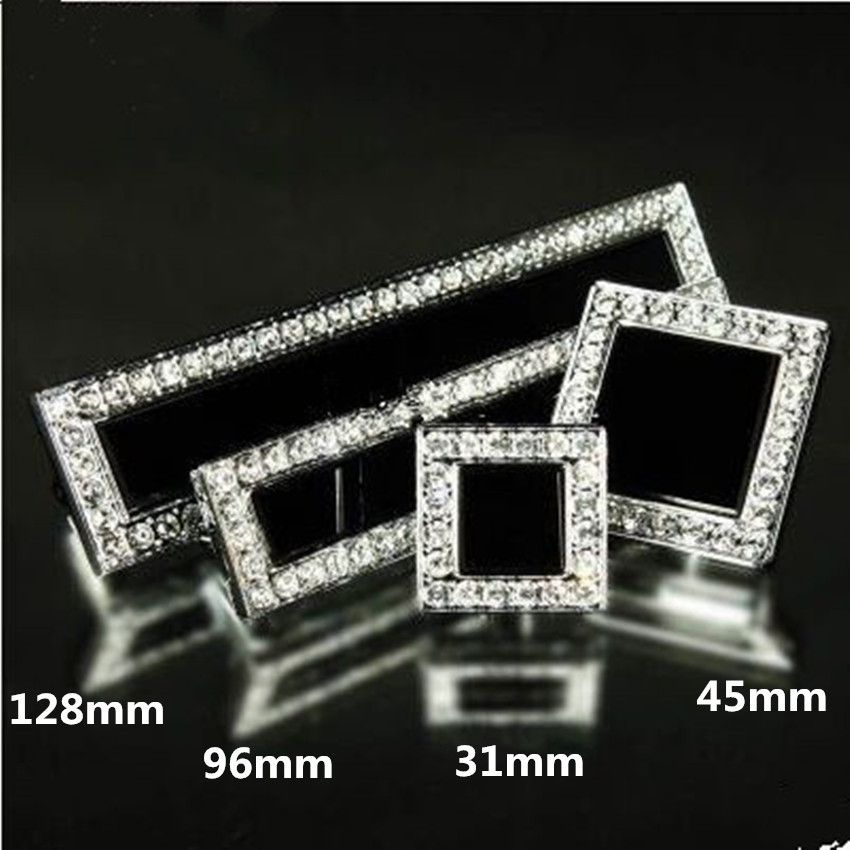 "96mm 5"" Modern Fashion Deluxe Diamond Furniture Handle"