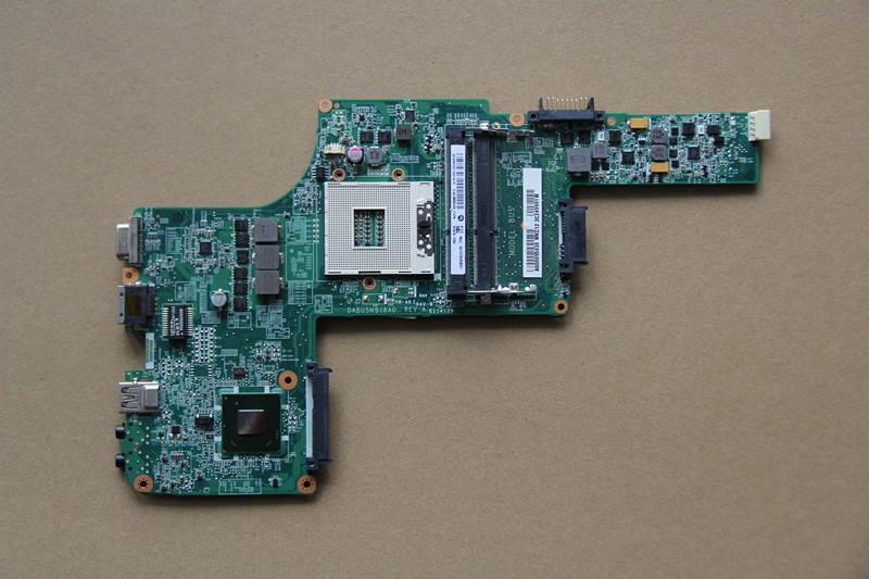все цены на A000095030 For Toshiba L730 Laptop motherboard DABU5MB18A0 HM65 DDR3 fully tested work perfect онлайн