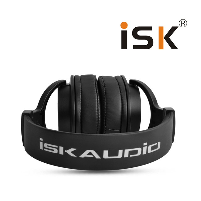 Professional ISK Hifi Headphone MDH8000 Monitor Earphone Computer Headset DJ fone de ouvido Audio Mixing Recording Gaming 3.5mm 3