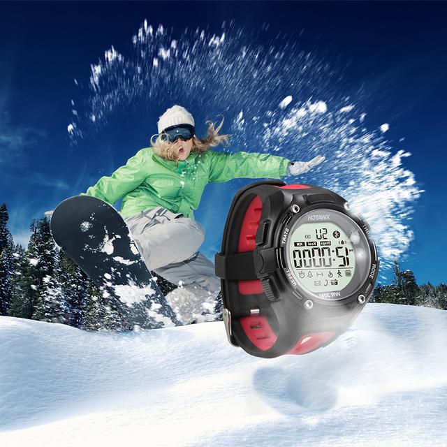 Esportes xwatch bluetooth smart watch noite visível de corrida ao ar livre à prova d' água relógio de fitness sono rastreamento para andriod e iphone