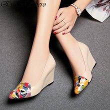 EshtonShero Spring Women's Shoes Woman Pumps