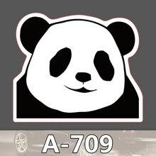 A-709 Panda Wasserdichte Kühle DIY Aufkleber Für Laptop Gepäck Skateboard Kühlschrank Auto Graffiti Cartoon Aufkleber