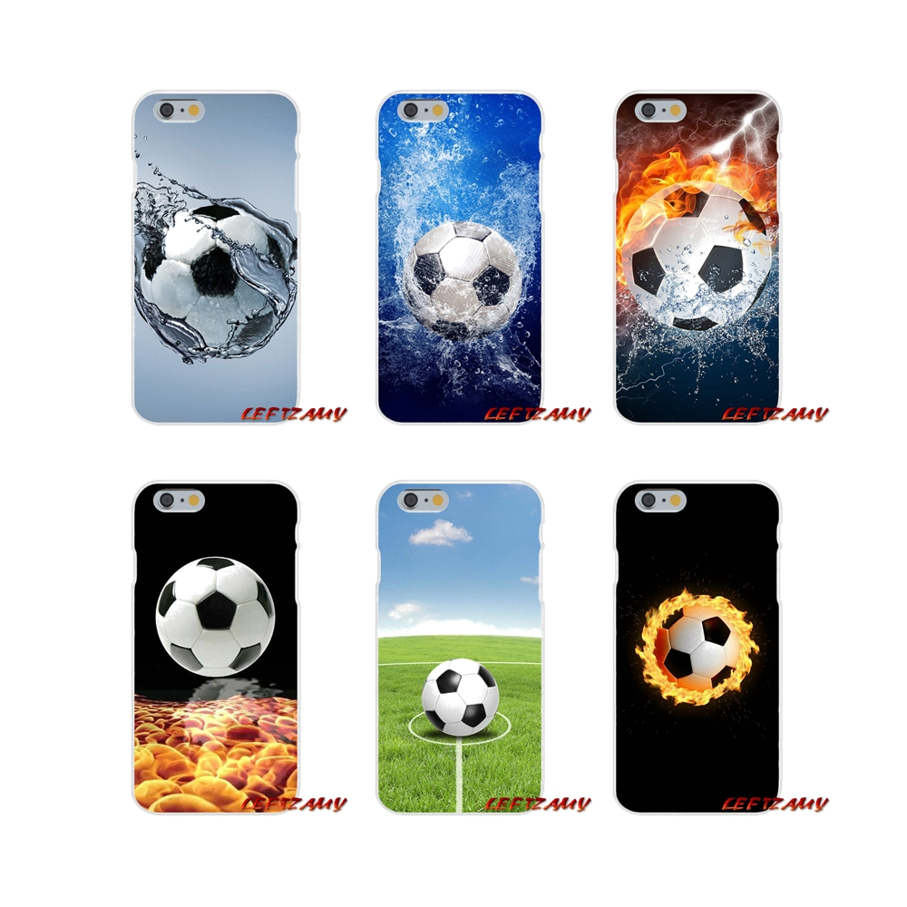 Soft Cases Cover For Samsung Galaxy A5 A6s A7 A8 A9s Star J4 J6 J7 J8 Prime Plus 2018 Football Soccer Ball On Water Burning Fire Pretty And Colorful Cellphones & Telecommunications