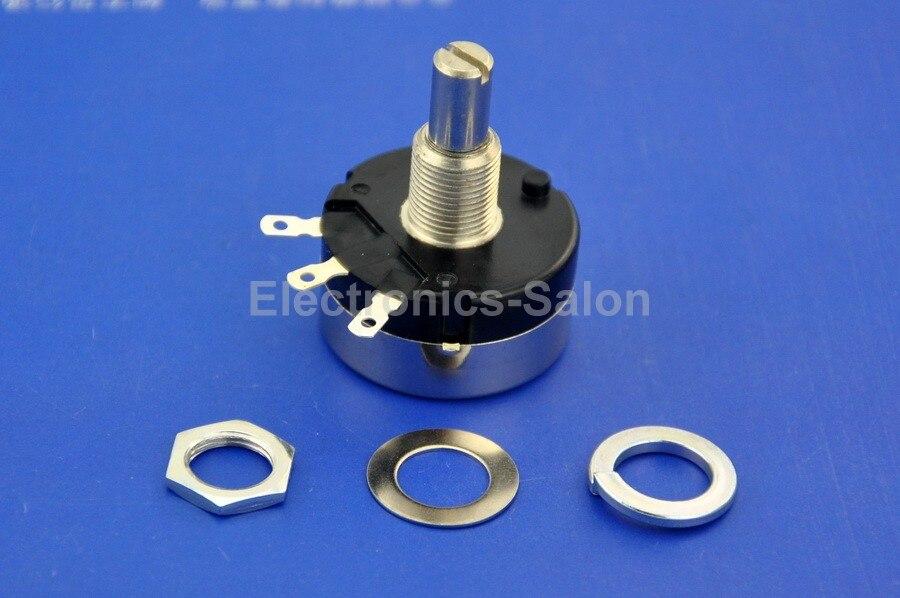 Cheap wirewound potentiometer