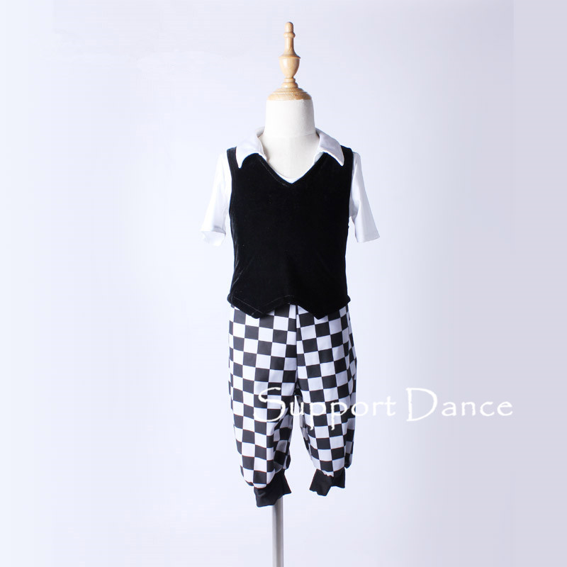 Cool Unisex 3-Piece Jazz Modern Dance Costumes For Kids Adult Including T-shirt Vest And Pants C130
