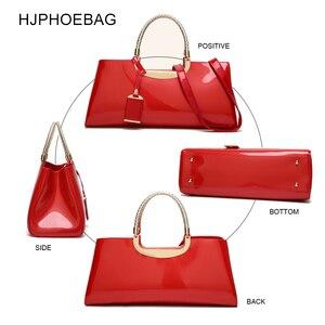 Image 4 - HJPHOEBAGแฟชั่นกระเป๋าจัดเลี้ยงพลาสติกสิทธิบัตรหนังกระเป๋าถือไหล่ผู้หญิงของขวัญงานแต่งงานBolsas Mujer YC186