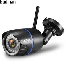 Gadinan 1080 P 960 P 720P HD Беспроводной CCTV пуля WI-FI Камера Открытый ИК Ночное Видение видеонаблюдения Камера camhi приложение TF карты