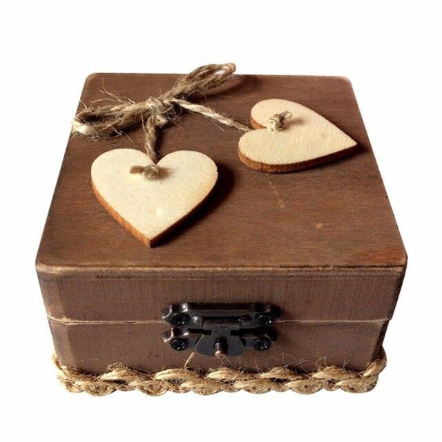 Holz Schmuck Ringe Boxen Personalisierte Holz Ring Box Hochzeit Ring