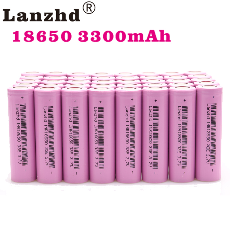 18650 batterie 3.7 V INR18650 batteries rechargeables lithium li ion 3.7 v 30A grand courant 18650VTC7 pour samsung 18650 (40-280 pièces)