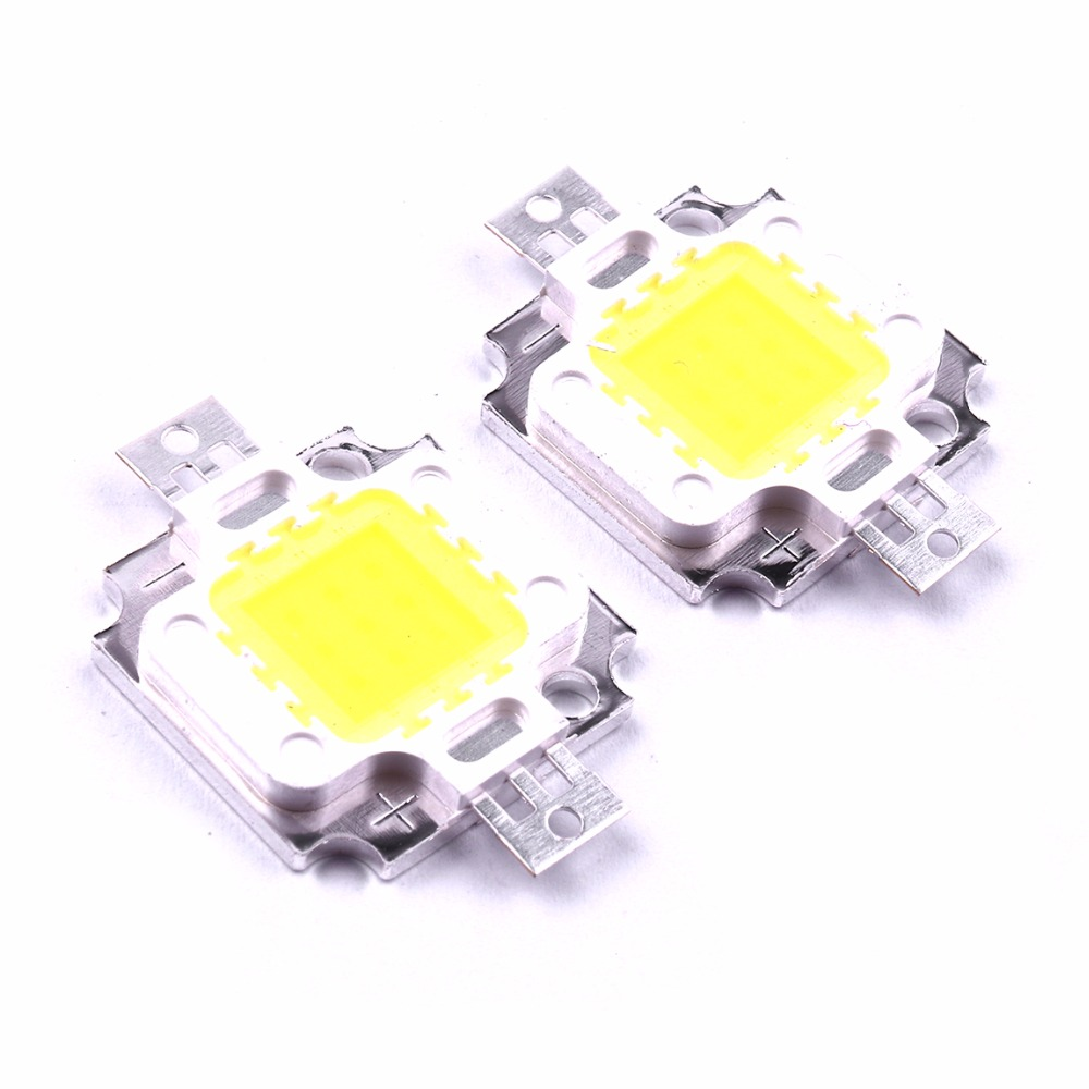 1Amp 140 degrees 800-900LM NEW 6000-6500K 4pcs 10W COOL White LED  9-12v
