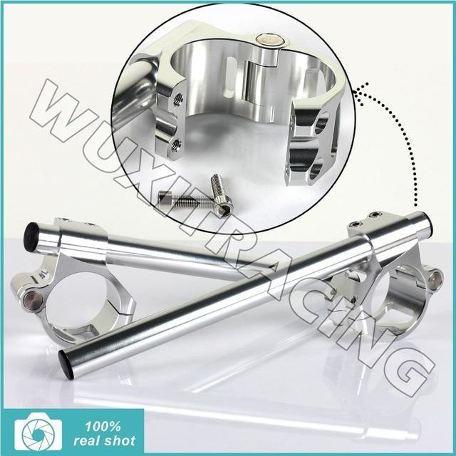 41MM CNC Split Clip Ons Handlebar For HONDA CBR 400 600 1000 CR 450 NT NX 650 RVF 720 VF VT 750 PC 800 ST 1100 GL 1200 1500