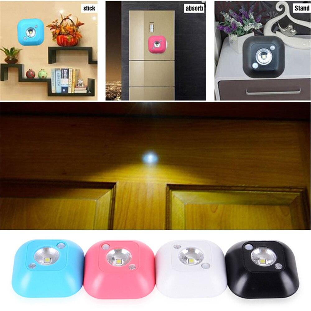 5 10 PCS Smart Wireless LED Sensor Night Light PIR Magnetic Infrared Motion Battery Powered Wall Lamp Cabinet Stairs lighting