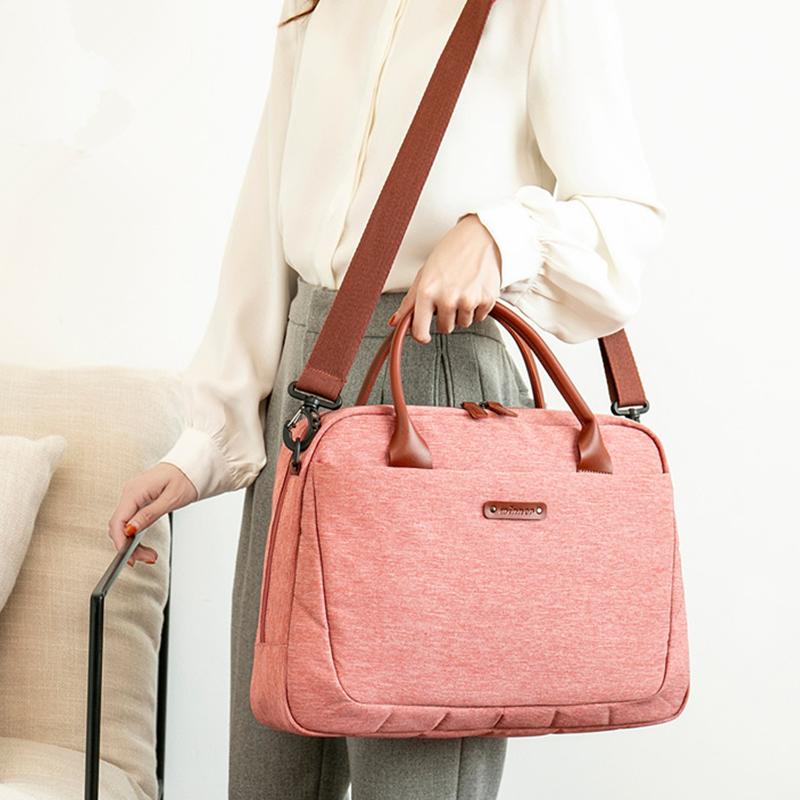 Fashion Laptop Briefcase for 14 15 15.6 inch Laptop Shoulder Messenger Bag Men Women Notebook Case Cover for Macbook Dell Xiaomi