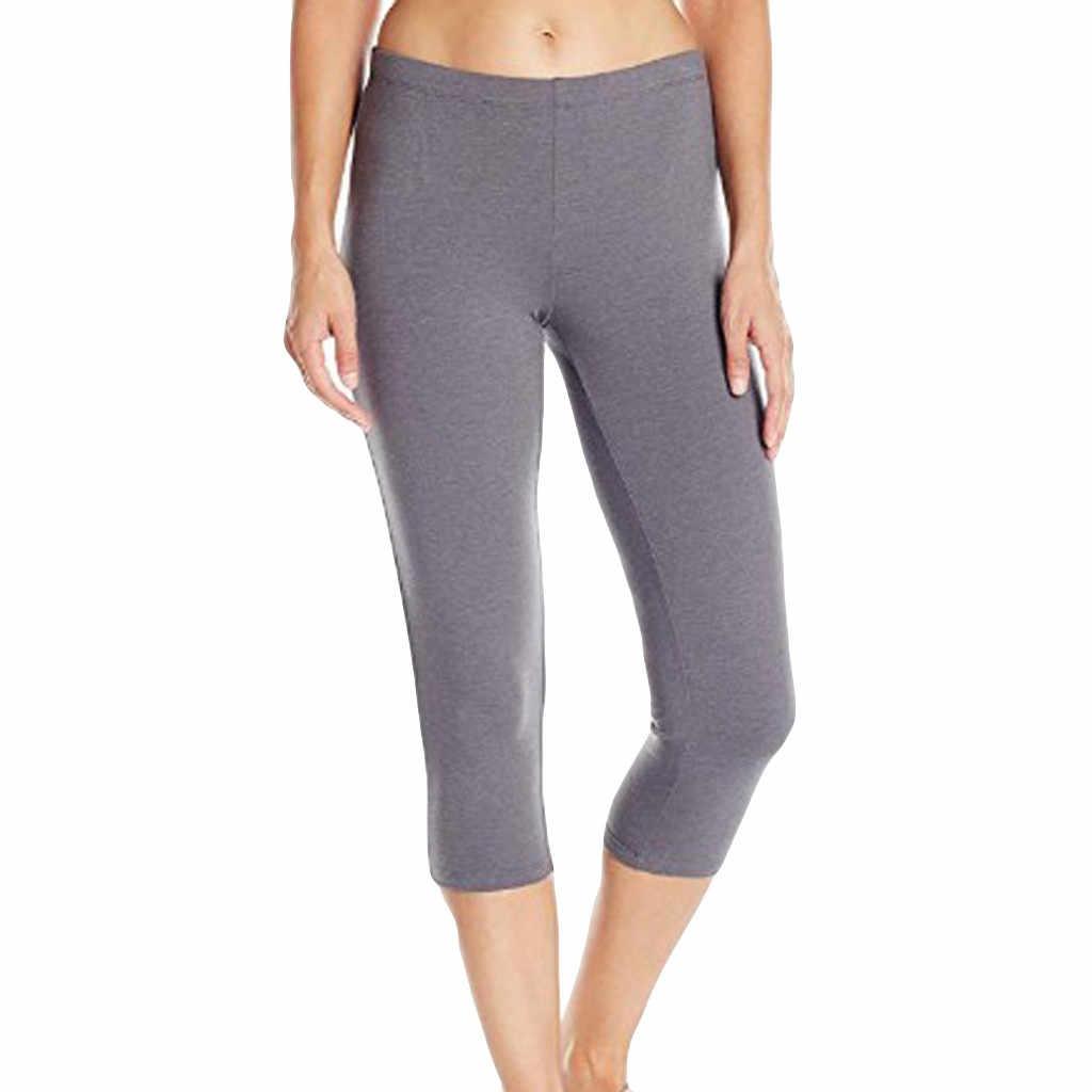 9762fcdd05e625 gymshark leggings Women's High-waist Hip Stretch Running Fitness Yoga Pants  Seven-minute Pants