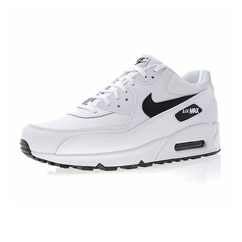best website 75b36 257e9 NIKE AIR MAX 90 ESSENTIAL Men s and Women s Running Shoes White Breathable  Shock absorbing Lightweight 325213 131-in Running Shoes from Sports ...