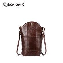 Cobbler Legend Unregelmäßigen Kleinen Eimer Tasche Telefon Handtasche Für Frauen Aus Echtem Leder Tasche Weiblich Mini Messenger Crossbody Tasche Kaufen