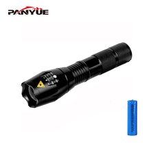 PANYUE Led Flashlight XML T6 Lantern Torch 1000 Lumens Outdoor Camping Powerful Tactical Led Flashlight Torch Waterproof panyue 1000lm led security tactical flashlight self defense multifunction outdoor survival torch xml t6 torchlight