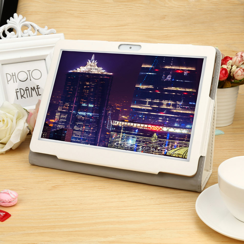 Tablet Case For 10 10.1 Inch Tablet Flip Case Leather Universal Folio Stand Cover Case For 10 10.1 Inch Android PC #1