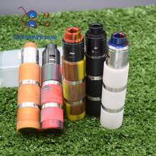 sob mod kit Brass Material Mechanical Mod 18650 battery e cigarette kit 24mm diameter vape vs Avidlyfe mod electronic cigarette jsld 80w kit vape built in 2000mah battery box mod large smoke steam vape kit vs txw 80w vape e cigarette