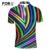 Camisa de polo de los hombres marcas de moda del triángulo de la raya tops tees ropa para hombres homme camisa de vaquero de los hombres de manga corta polo camisa de polo xxl