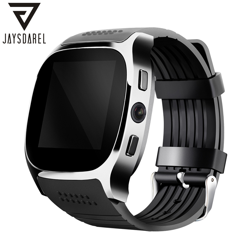 JAYSDAREL T8 Smart Watch Support SIM TF Card Camera Sync Call Message M26S Bluetooth Military Smart Wristwatch for Android iOs jaysdarel heart rate blood pressure monitor smart watch no 1 gs8 sim card sms call bluetooth smart wristwatch for android ios