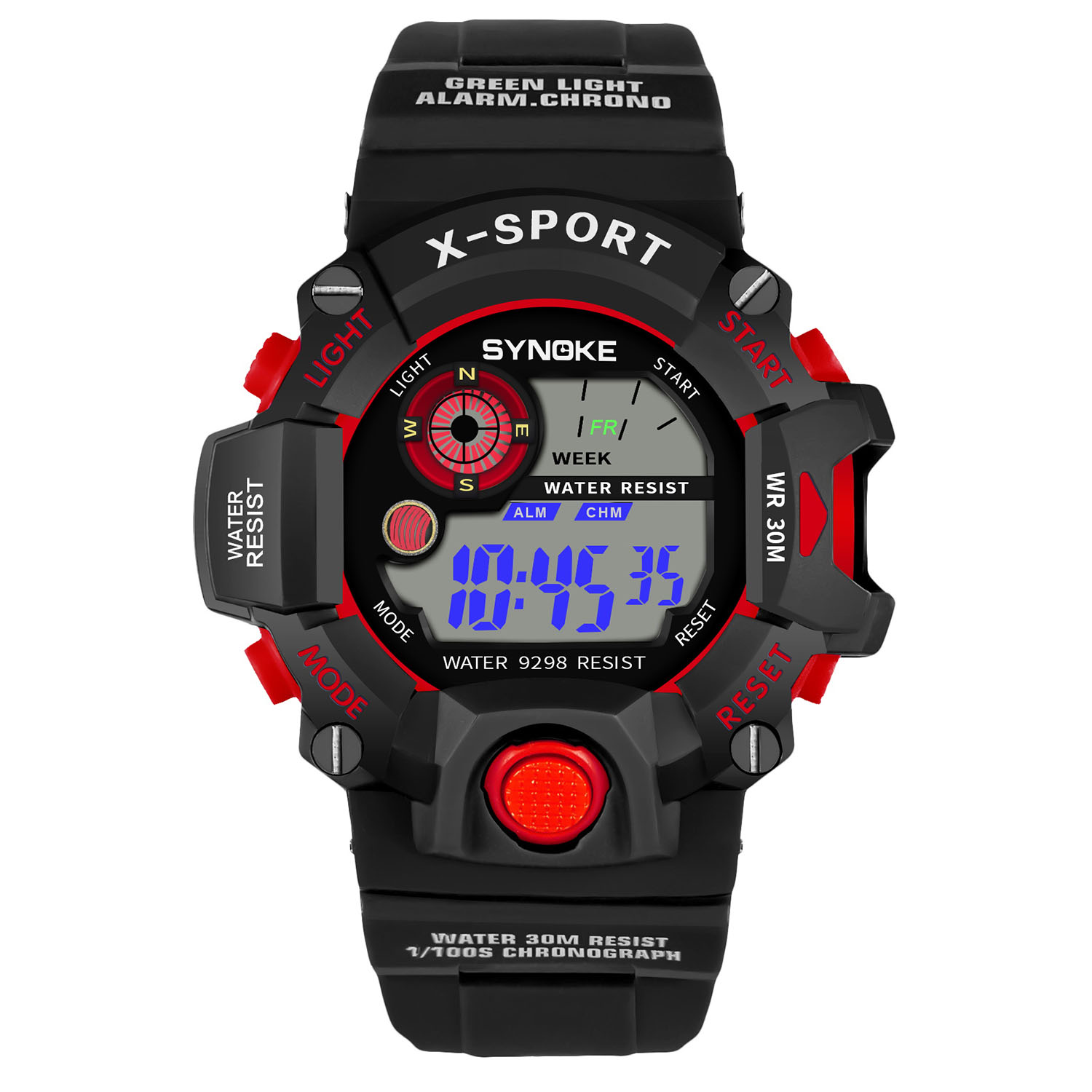 New 2019 G Watch Men Shock Sports Watches LED Wristwatches Waterproof Alarm Men's Sports Watches Digital Military Watches(China)