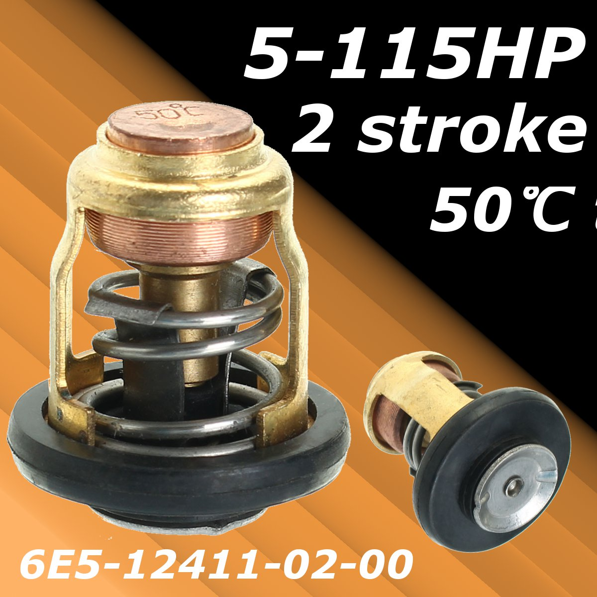 1PCS/2PCS 4HP 5HP 6HP 15HP 30HP Boat Engine Thermostat For SUZUKI Outboard Motor Engine Part