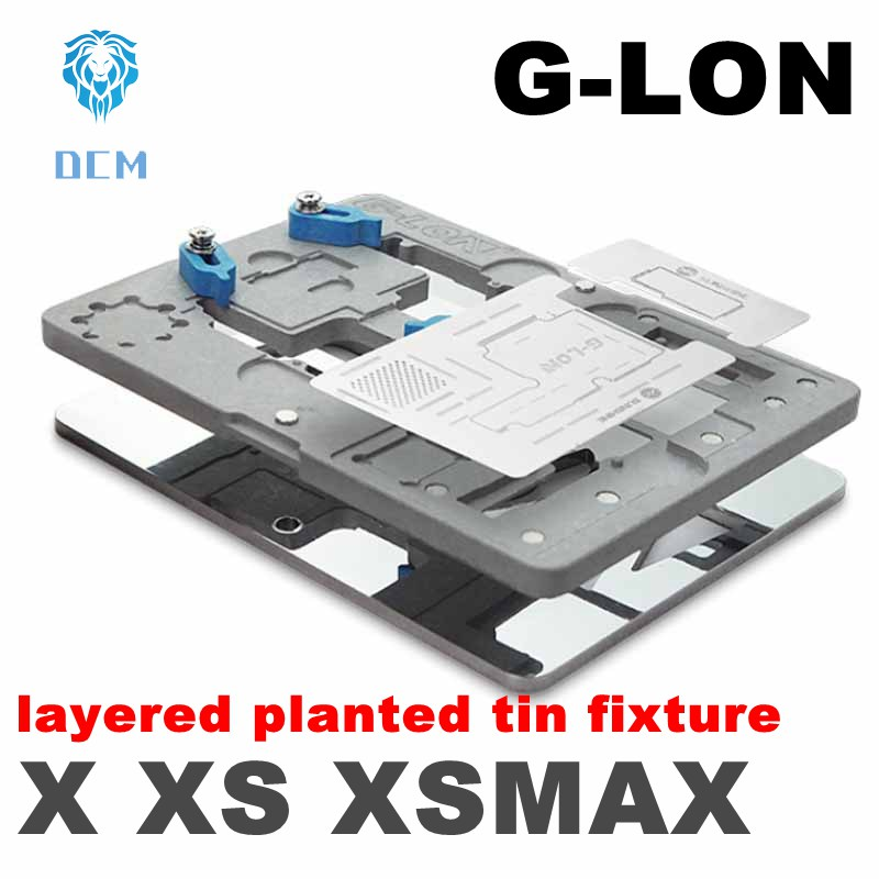 Newest for iphoneX/XS/MAX motherboard layered planted tin mobile phone motherboard repair fixed fixture platformNewest for iphoneX/XS/MAX motherboard layered planted tin mobile phone motherboard repair fixed fixture platform