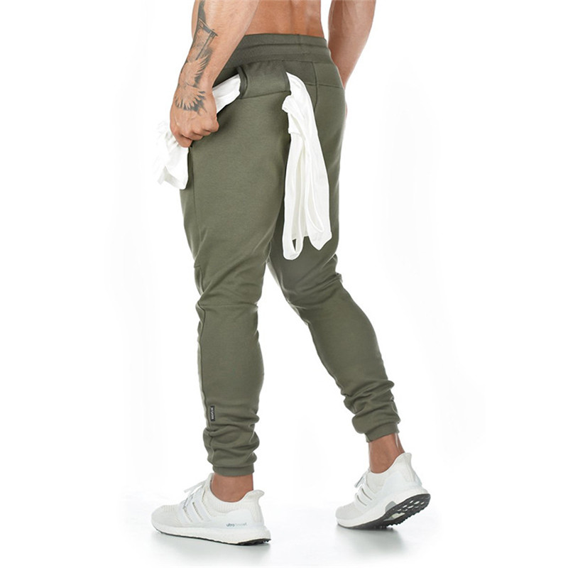 New Men's Running Sweatpants Fitness Joggers 2019 Autumn Plus Size 3xl High Street Hip Long Trousers Tranning Pants Sweatpant