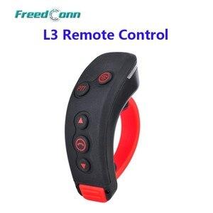 FreedConn L3 PTT kierownica pilot zdalnego sterowania kask motocyklowy z bluetooth zestaw słuchawkowy z interkomem bt interphone dla L1, L2, COLO-RC, T-REX
