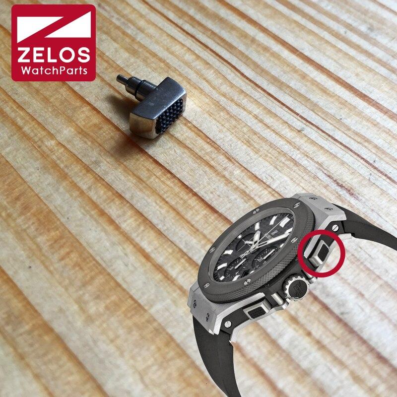 Hub Waterproof Watch Pusher For Hublot Big Bang 44mm Chronograph Watch Press Button Watch Parts