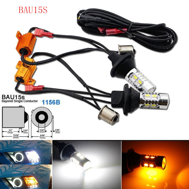 car switchback led for front dual function drl or parking light rh aliexpress com Rocker Switch Wiring Trolling Motor Waterproof LED Switch Wiring Diagram