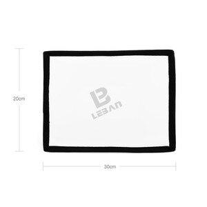 Image 3 - Godox 20cm x 30cm universel pliable Mini Flash diffuseur Softbox pour Godox, Canon, Nikon Flash