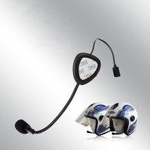 V1-1 bluetooth гарнитуры bluetooth/наушники Моно для Мотоциклетный шлем звонки Hands-Free, без внутренней Функция