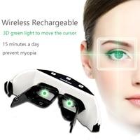 Wireless 3D Rechargeable Green Light Eye Instrument Restore Vision Eye Massager Child Myopia Treatment Massage Eye