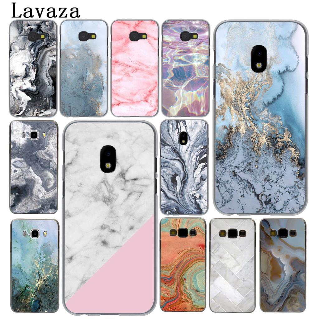 Lavaza stone Marble Decorative pattern Hard Phone Case for Samsung Galaxy J5 J1 J2 J3 J7 2017 2016 2015 2018 J3 J5 Prime Cover
