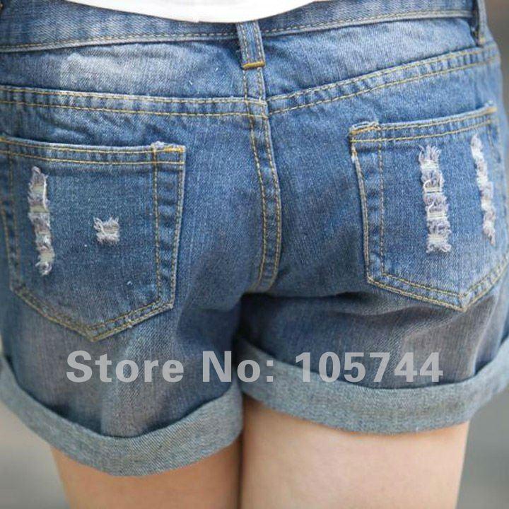 Ladies Short Jeans Pants