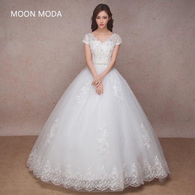 lace vintage wedding dress 2017 bride simple pregnant sheap bridal ...