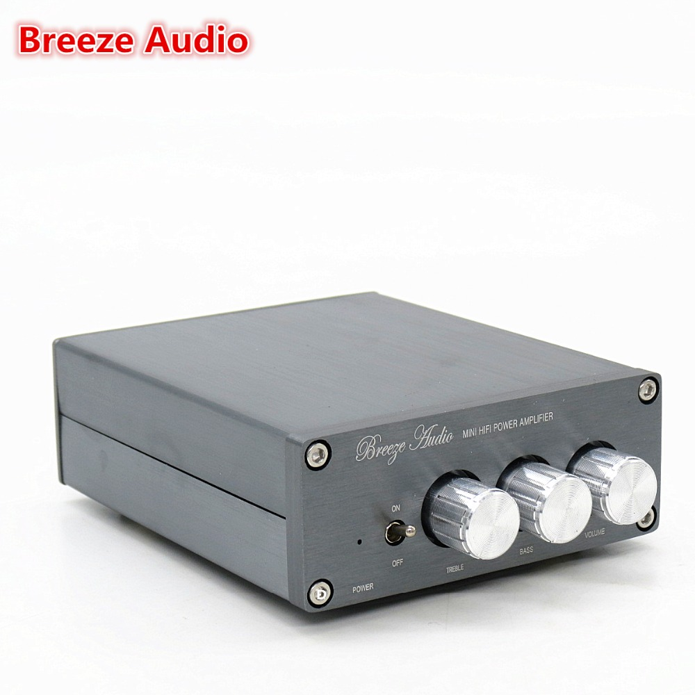 Breeze Audio QF-2.1-TPA3116  2.1 Subwoofer mini amplifiers  DC24V Home car audio music speaker power amplifier