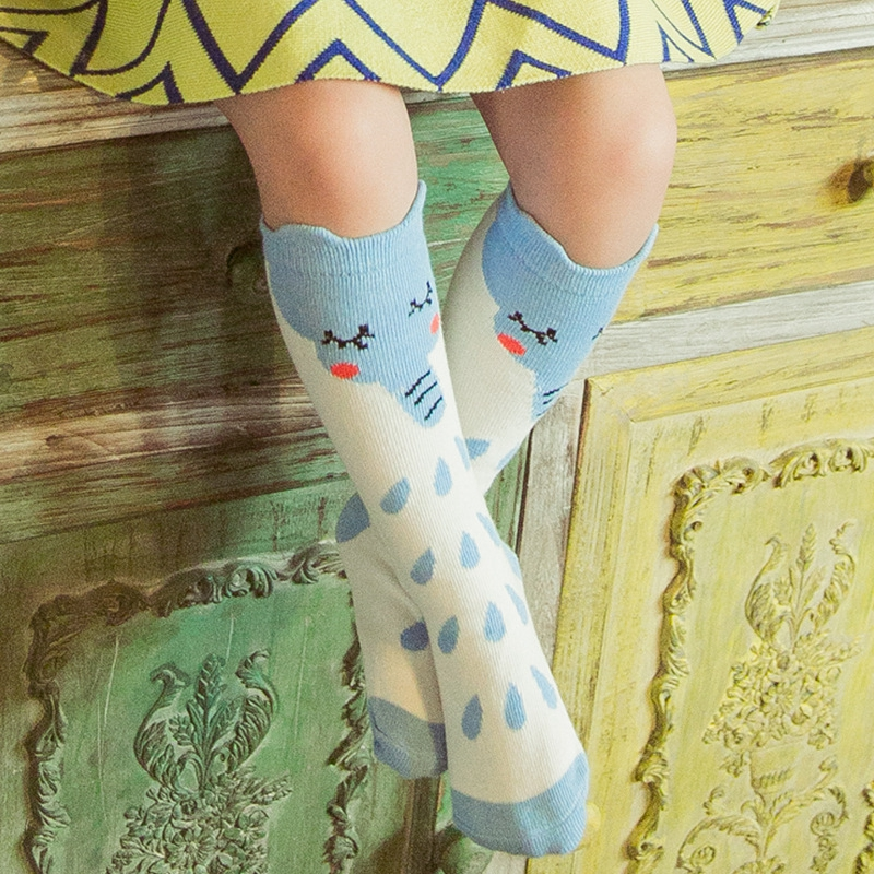 Autumn-and-Winter-Boys-and-Girls-Lovely-Three-dimensional-Cartoon-Creative-Cotton-In-The-Tube-Keep-Warm-Sock-0-6-Years-old-3