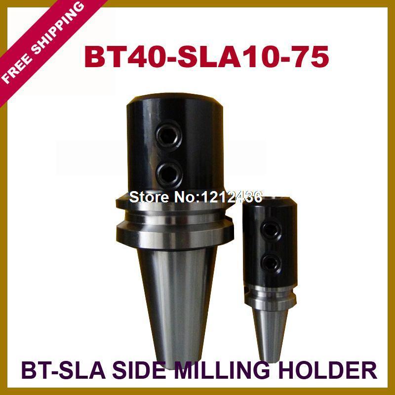 Free Shipping BT40-SLA10-75 Side Milling Toolholder System Working On CNC Milling Machine  цены