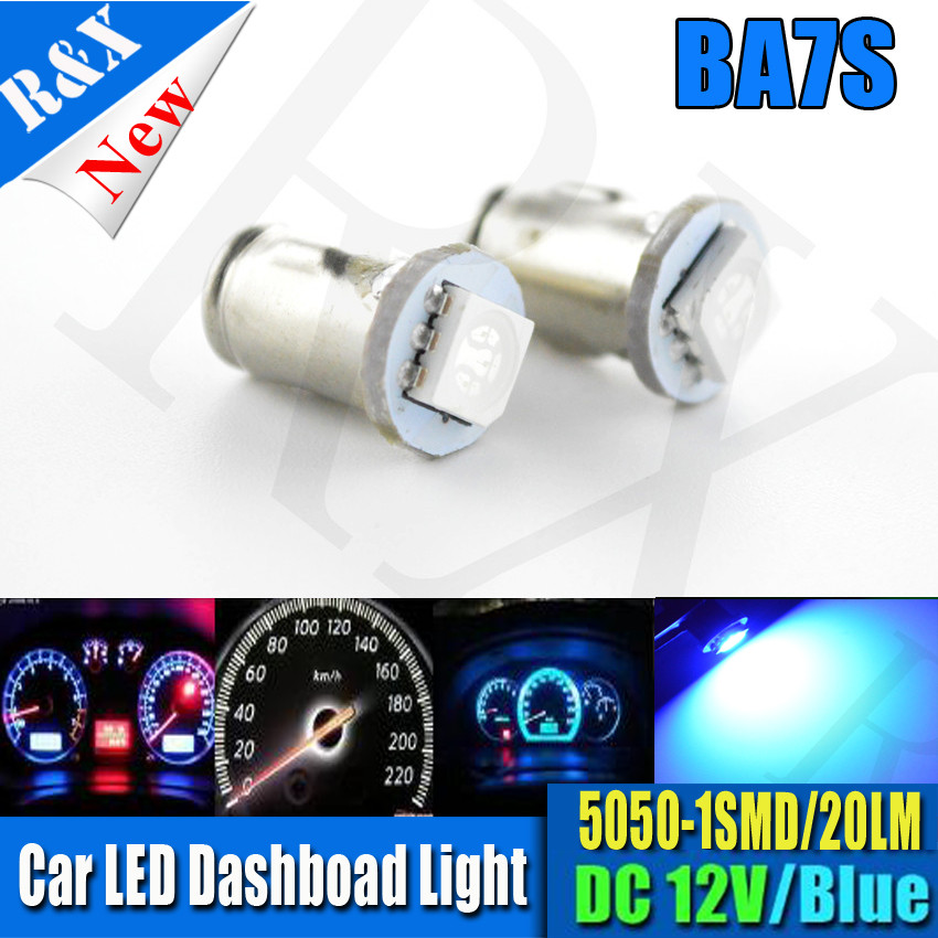 10x BA7S 5050 1SMD Car Dashboard LED Indicator Signal Warning Light Bulb Dash Lamp 12V B ...