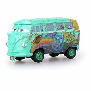 Image 4 - Disney Pixar Cars3 3 véhicule Lightning 39 Style McQueen, Mater Jackson Storm Ramirez, échelle 1:55, Diecast, en alliage métallique pour garçons et enfants, cadeau