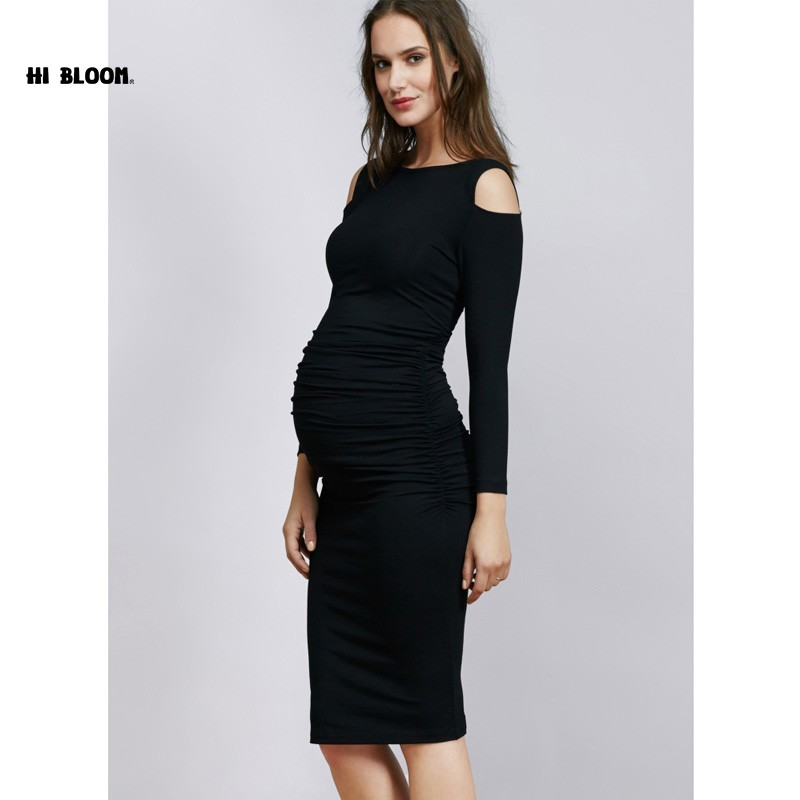 9aaeaf7b12 Easter Gift Maternity Clothes Elastic Maternity Dress Nice Evening ...