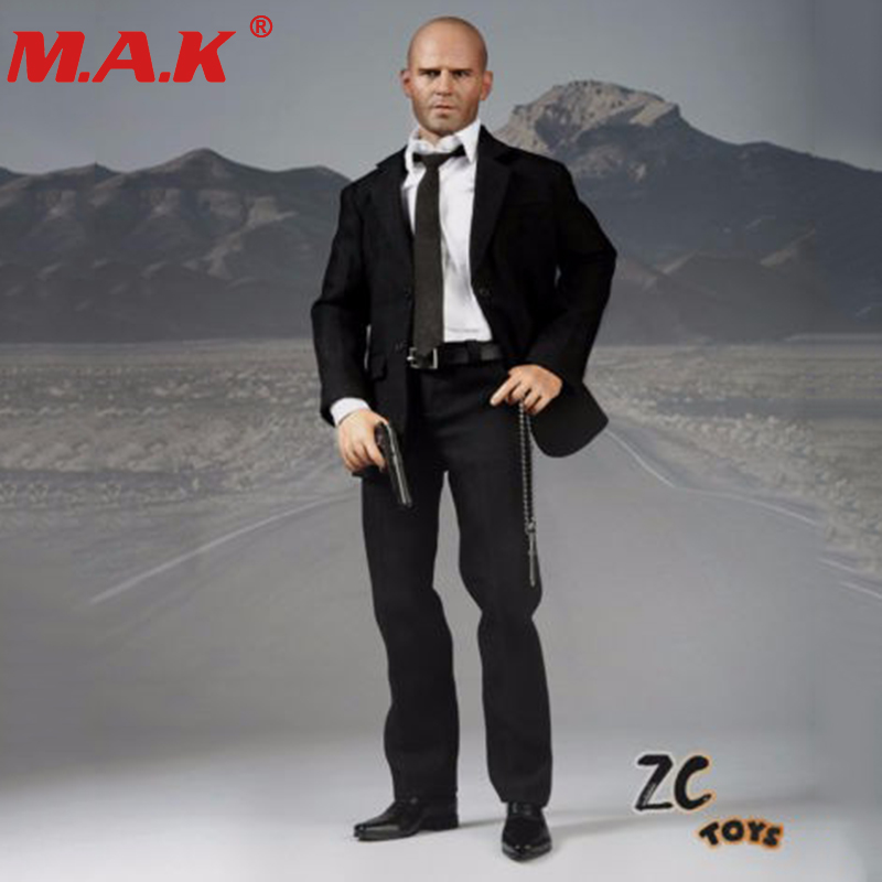 1:6 scale Jason Statham action figure head&body suits set collection collective tough man guy model toy hot 1 6 figure toys head sculpt 1 6 jason statham iron man tony head for 12 inch soldier action figure ht hottoys model toy