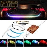 120cm Car LED Strip Rear Trunk Tail Light Tailgate Brake Turn Signal Light Waterproof Reverse Warning