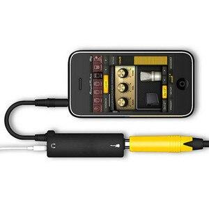 2019 Rig di Collegamento della Chitarra Audi AMP Amplificatore per Chitarra Effetti A Pedale Convertitore Cavo Adattatore Martinetti per il iPad iPod di iphone(China)