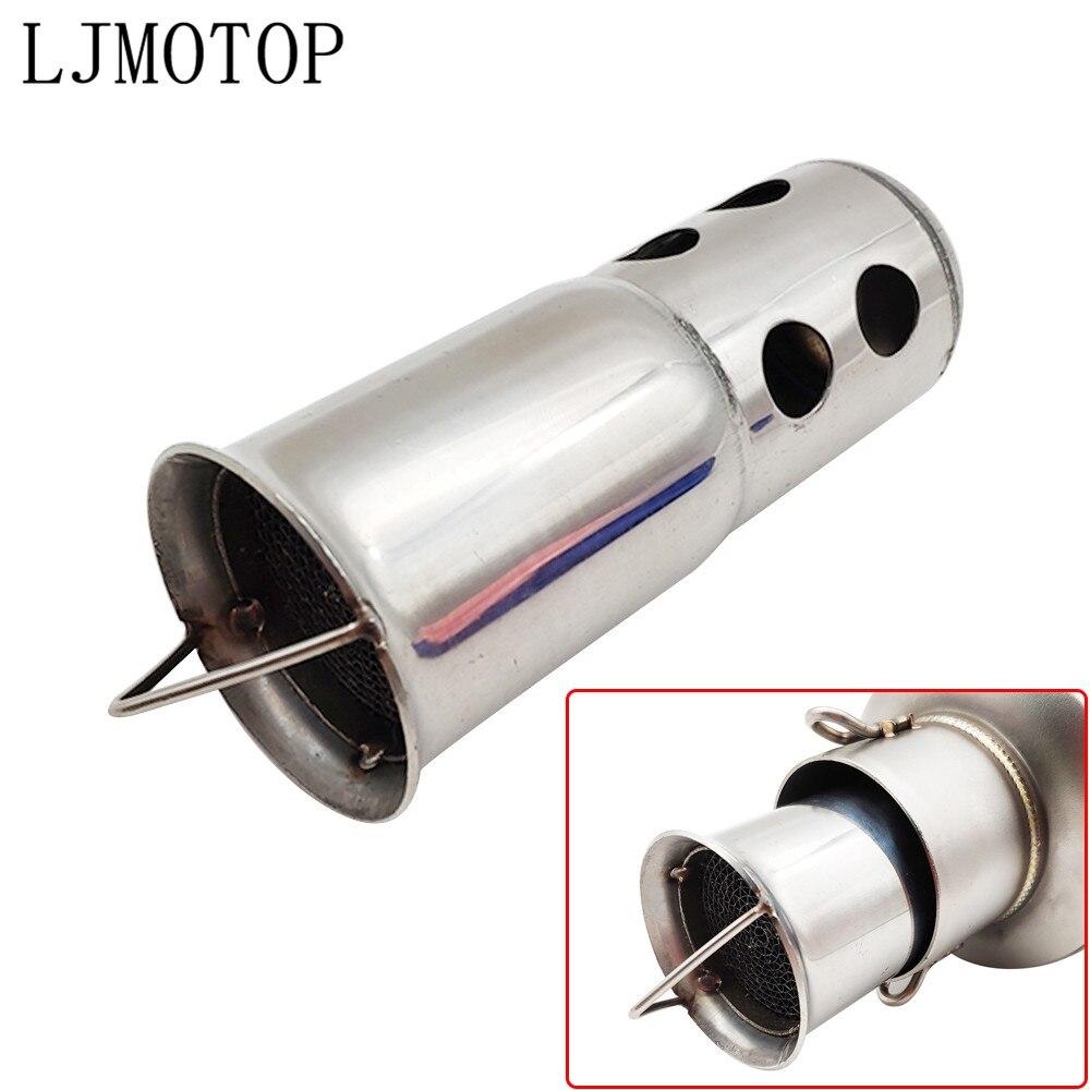 Motorcycle DB Killer Silencer Noise Sound Eliminator Exhaust Muffler For YAMAHA FZ8 FZ6 XSR700 XSR900 XSR 900 XV950 XV 250 950